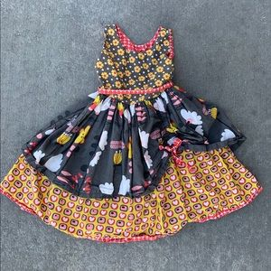 Jelly the pug girls size 8 dress